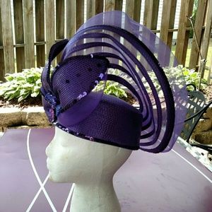 Deborah Fashions Accessories - Deborah Fashions Vintage straw fashion hat